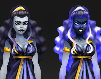 Character Design Styx