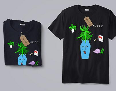 """Karifurava """"Pitcher"""" t-shirt"""