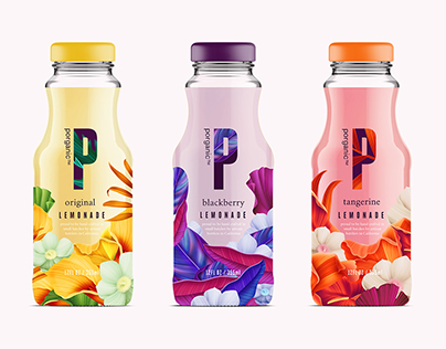 Porganic - bottle packaging design