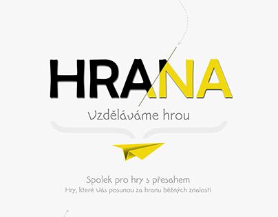 HRANA - web & visual style