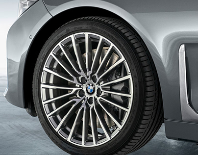 BMW 7 series - facelift. Luxury wheel