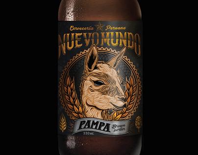 Nuevo Mundo Craft Beer - Label Design