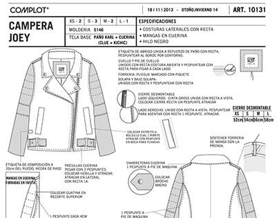 Fichas técnicas Freelance // Spec Sheets