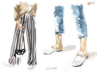 SKETCHBOOK: Fashion Illustration