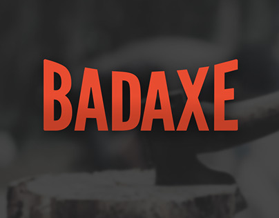 BadAxe Homepage Layout