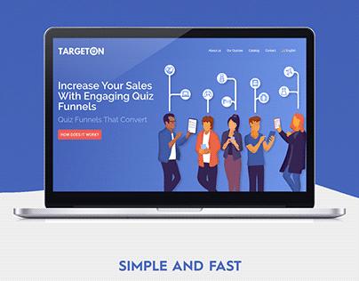 Targeton - Web design