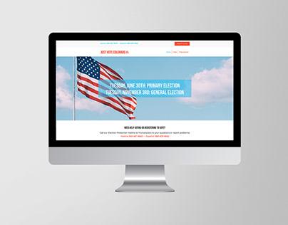 Just Vote Colorado Website