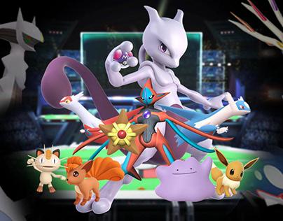 Pokémon fight
