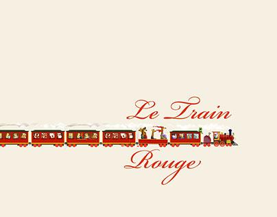 Le train rouge