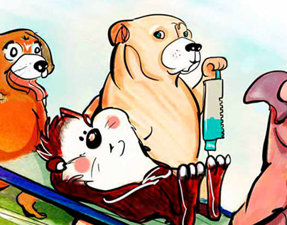 Newspaper animal Illustrations (Las Últimas Noticias)