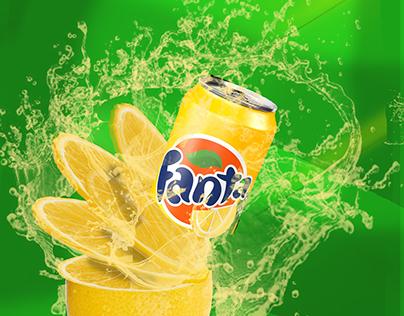 "My New Work-""Fanta Advertisement Poster"""