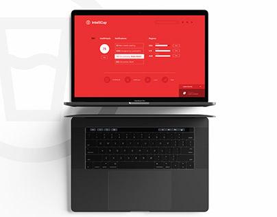 Intellicup UX/UI design