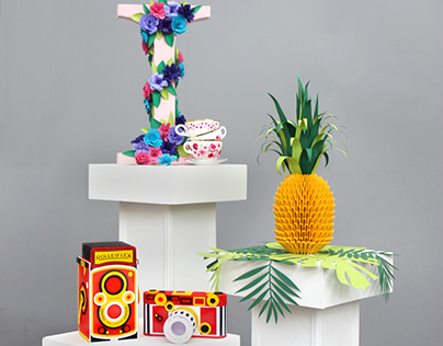 3D Paper sculptures - Gallery Edition
