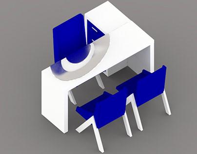 Diseño de mobiliario y arquitectura de espacios