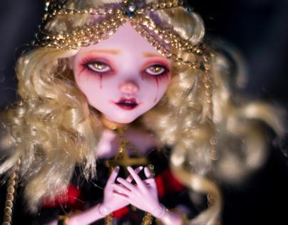MonsterHigh Repaint娃娃重绘