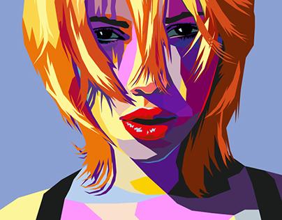 Pop art portrait in Illustrator (WPAP Style)