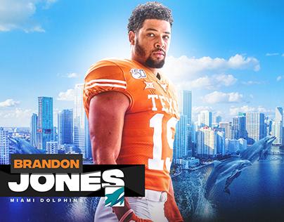 2020 Texas Longhorns NFL Draft Graphics Package