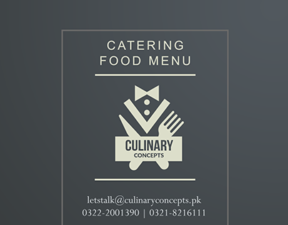 Culinary Catering Menu
