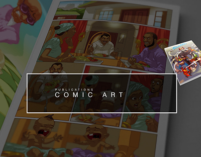 The Indomitables Comic Project