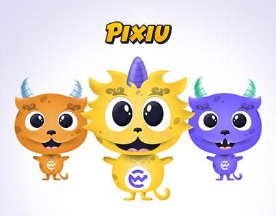 Pixiucharacter Mascot
