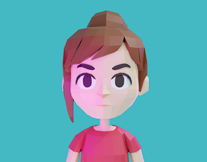 Personaje 3D Low Poly