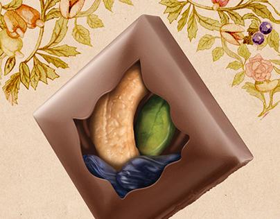 CGI Chocolates Ibaco/India