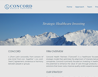 Concord Health Partners Investments