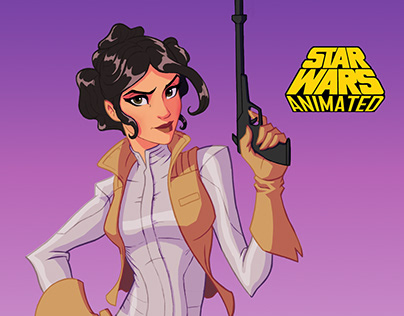 Star Wars Animated: Princess Leia