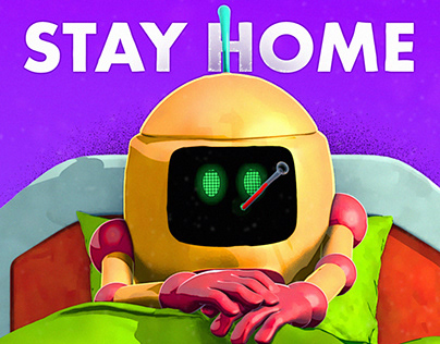 Stay Home | A 4K Short Animation