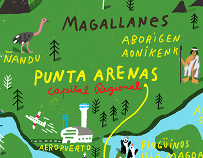 Magallanes Map