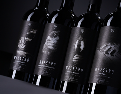Maestro Wine label 2020