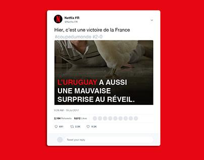 Posts Twitter pour Netflix