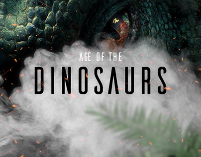 Age of the Dinosaurs / Conceptual site UX UI