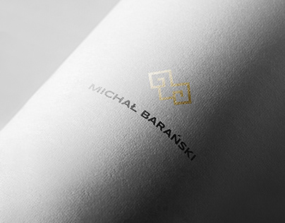 Financial expert brand identity concept