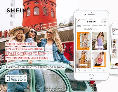 Social media app advertisement
