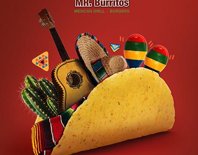 Mr.Burritos Mexican Food Online Campaign