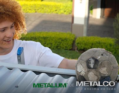 Láminas para techo Metalum de Metalco.