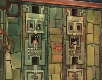 Animation Background Illustrations
