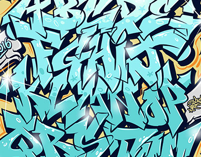 Themeaseven Graffiti Alphabets