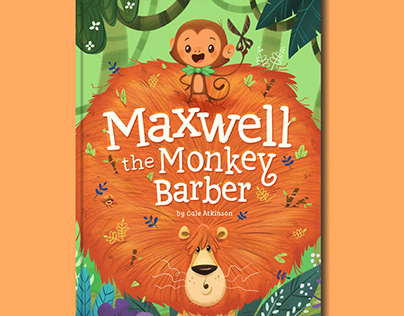 Maxwell the Monkey Barber - Picture Book