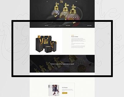 Scents fo Arabia website