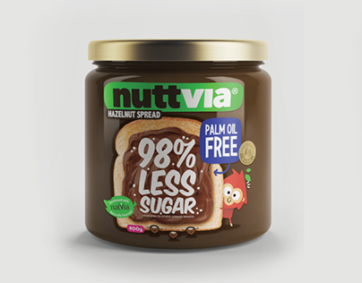 Nuttvia - Packaging Design