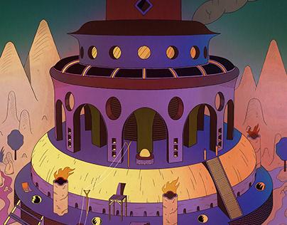 Babel / ziggurat