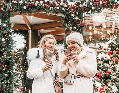 Jingle Bells Lightroom Mobile Presets Photoshop