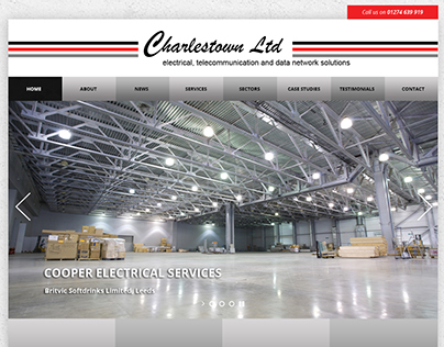 Charlestown Ltd Website Design