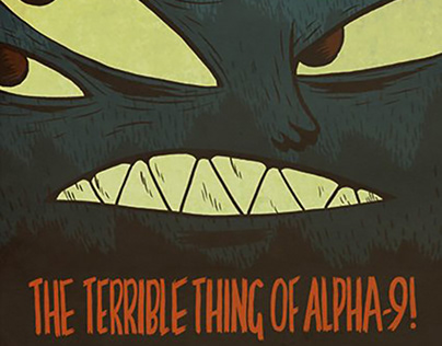 """The Terrible Thing of Alpha-9!"" - SVA 2009"