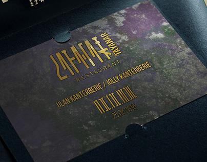 TAYANAR RESTAURANT Complimentary ticket