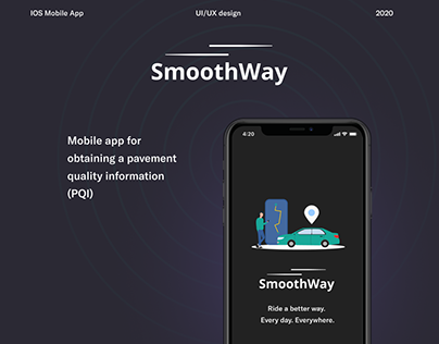 SmoothWay - mobile app for bad roads information