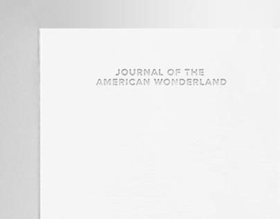 Journal of the American Wonderland