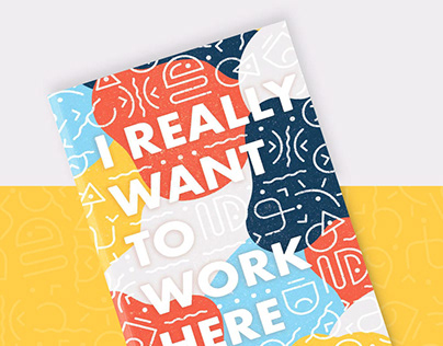 I Really Want to Work Here – Self Promotion Booklet